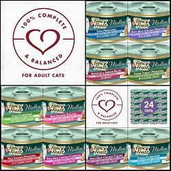 Purina Fancy Feast Medleys Adult Canned Wet Cat Food - 24 3 Oz. Cans In Sauce