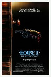 House Ii The Second Story 1987 Original Movie Poster - Rolled