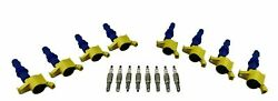 8 Ignition Coil Packs And Spark Plugs For 04-08 F150 F250 F350 5.4l Triton 4.6l V8