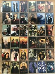1995 Vintage Topps Comics X-files 1st Series Lot Of 220 Cards Near Mint