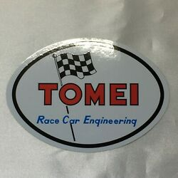 Tomei Official 70and039s Oval Sticker Decal For Nissan B110 Datsun 1200 Sunny Owner