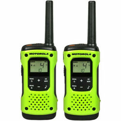 Motorola T600 H20 Rechargeable Two-way Radio - Green 2 Pack