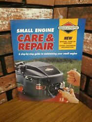 Briggs And Stratton Care And Repair Small Engine Maintenance Manual