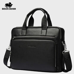 Genuine leather Bag Latest Briefcase Business Cross body Bag for Men Smart Look $122.75