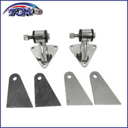 Small And Big Block Chevy Stainless Steel Engine Motor Mount Kit Sbc350 Bbc454