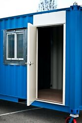 Cargo Container Hd Steel Entry Door And Window Kit - Easy Install - Free Shipping