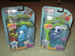 2 New Fingerlings - Lil'g - Baby Giraffe And Archie - Baby Panda --- 40 +sounds