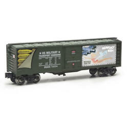 Set Of 4 O Gauge Heavenly Body Commemorative Military Realistic Boxcar Dealer