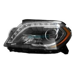 Lh Driver Side Hid Headlight Assembly Fits 2013-16 Mercedes-benz Gl350 Mb2502216