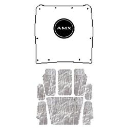 Hood Insulation Pad Heat Shield For 1968-70 Amc Javelin Under Cover- W/a-060 Amx