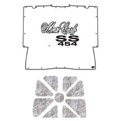 Hood Insulation Pad Heat Shield For 73-77 Chevy A-body W/ G-035 Monte Carlo 454