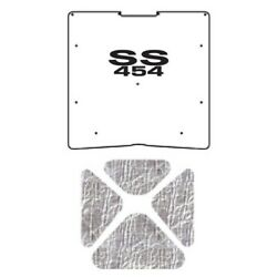 Hood Insulation Pad Cover For 68-72 Chevrolet Nova Acoustihood Kit With G-ss454