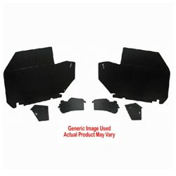 Trunk Side Panel Board 2pc For 1971-1973 Buick Buick Riviera 2 Dr Hardtop Black