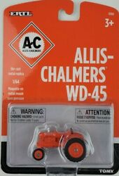 Ertl Ac Allis-chalmers Wd-45 Narrow Front Tractor