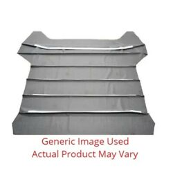 5 Bow 12andfrac12 Headliner With Sails Ribbed - White For 1968 Chevy Chevelle Hardtop