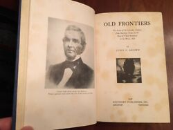 Rare Old Frontiers Story Cherokee Indians From Earliest Times To 1838 Removal