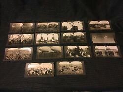 Ww1 Stereoviews. Lot Of 14 Different.