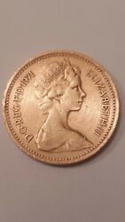 Andnbsp1971 New One Penny Coinandnbsp Extremely Rare Good Condition Used
