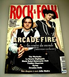 Rock And Folk Magazine September 2005 In French Arcade Fire - Robert Plant