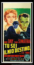 Young At Heart 13 X 28 Italian Movie Poster Original 1954