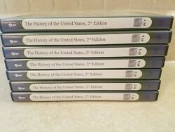 The Great Courses The History Of The United States 2nd Edition Parts 1-7 42 Cdand039s