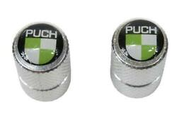 Dust Cap Metal With Puch Emblem For Tyre Valve Puch Moped Kkr Motorcycle