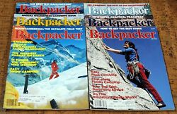 BACKPACKER Magazine • 1983 • Complete Year Bi Monthly January November $25.99