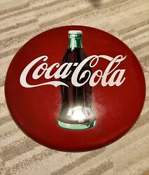 Coca-cola Bottle Button Sign Display Interior Penny Japan