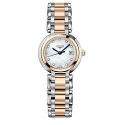Longines L8.110.5.87.6 Primaluna 26.5mm Womenand039s Two-tone Stainless Steel Watch