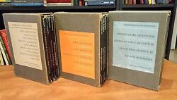 The Great Ages Of World Architecture By George Braziller 12 Volumes 3 Box Sets