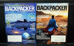 BACKPACKER Magazine • 2014 • Lot of 9 issues Complete Year $11.99
