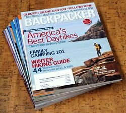 BACKPACKER Magazine • 2007 • Lot of 9 issues Complete Year $11.99