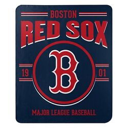 Boston Red Sox Fleece Throw Blanket 50 X 60 Official Mlb Licensed New