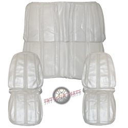 1968 Roadrunner Seat Covers Front And Rear White Convertible Plymouth Satellite
