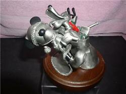 Disney Mickey Mouse And Pluto Dog Just For You Pewter