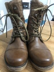 J75 By Jump DEPLOY Tan Military Boot Size 8