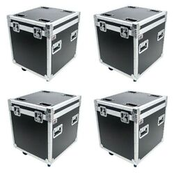 4 Osp 22 Truck Pack Hard Rubber Lined Utility Stackable Ata Flight Road Case
