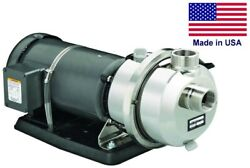Centrifugal Potable Water Pump 180 Gpm - 230/460 V - 3 Ph - 1.5 Fnpt And 2 Mnpt