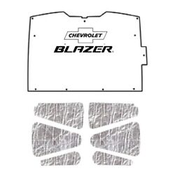 Hood Insulation Pad Heat Shield For 1994-2004 Chevy S-10/s-15 With G-008 Blazer