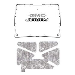 Hood Insulation Pad Heat Shield For 1952-93 Gmc Sonoma Under Cover W/g-058 Jimmy