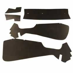 Trunk Side Panel Board 5pc For 1955 Cadillac Coupe Deville 2 Door Hardtop Brown