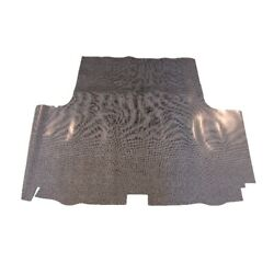 Trunk Floor Mat Cover For 67-69 Plymouth Cuda 2dr Coupe Rubber Gray Herringbone