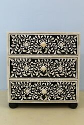 Antique Dresser 3 Drawer Bedside 3 Drawer Night Stand And Phone Flower Stand