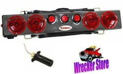 36 Towmate Carbon Fiber Wireless Wide Load Light Bar For Heavy Duty Tow Truck