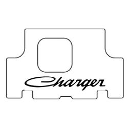 Trunk Floor Mat Cover For 1971-1974 Dodge Charger Hi-definition Rubber, W/mb-050