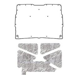 Hood Insulation Pad Heat Shield For 1952-1993 Gmc Sonoma Under Cover Smooth