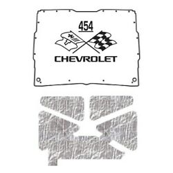 Hood Insulation Pad Heat Shield For 1952-1993 Gmc Sonoma Under Cover W/ceid-454