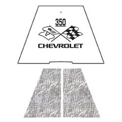 Hood Insulation Pad Heat Shield For 1949-1952 Chevrolet Under Cover W/ceid-350