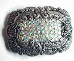 VERY Cool Girls Ladies Cowgirl Rhinestone Belt Buckle. $9.89