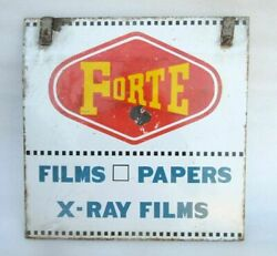 Porcelain Enamel Forte Film Paper X-ray Films Double Sided Advertise Sign Board